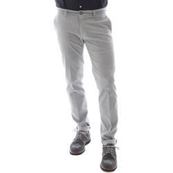 Υφασμάτινα Άνδρας Παντελόνια Sei3sei 6OYSTER E1669 Γκρί