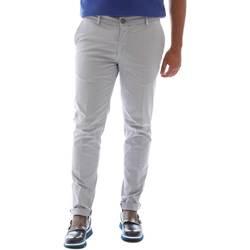Υφασμάτινα Άνδρας Παντελόνια Sei3sei 6OYSTER E1648 Γκρί