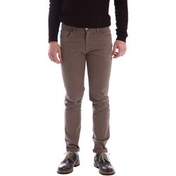 Υφασμάτινα Άνδρας Παντελόνια Sei3sei 02396 καφέ
