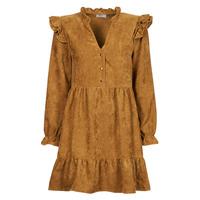 Υφασμάτινα Γυναίκα Κοντά Φορέματα Betty London PRIXOUTE Camel