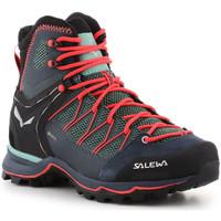 Παπούτσια Γυναίκα Πεζοπορίας Salewa Ws Mtn Trainer Lite Mid GTX 61360-5585 green
