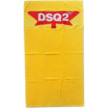 Σπίτι Γυναίκα Πετσέτες και γάντια μπάνιου Dsquared D7P001930 Yellow