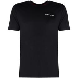 Υφασμάτινα Άνδρας T-shirt με κοντά μανίκια Champion  Black