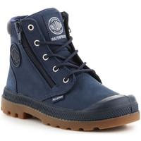 Παπούτσια Παιδί Ψηλά Sneakers Palladium Pampa Hi CUFF WP K 53476-425-M navy