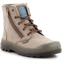 Παπούτσια Παιδί Μπότες Palladium Pampa Hi Lea Gusset 52744206 green