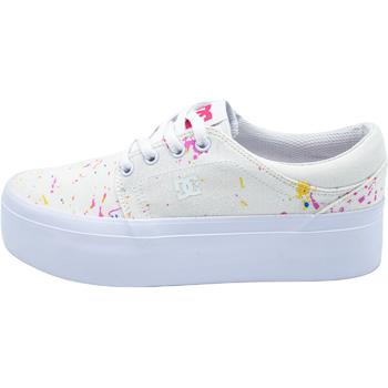 Παπούτσια Γυναίκα Χαμηλά Sneakers DC Shoes Trase άσπρο
