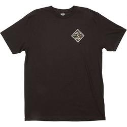 Υφασμάτινα Άνδρας T-shirt με κοντά μανίκια Salty Crew T-shirt  Tippet Decoy Standard noir