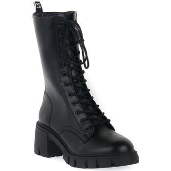Παπούτσια Γυναίκα Μποτίνια Steve Madden BLACK HIGHLAND Nero