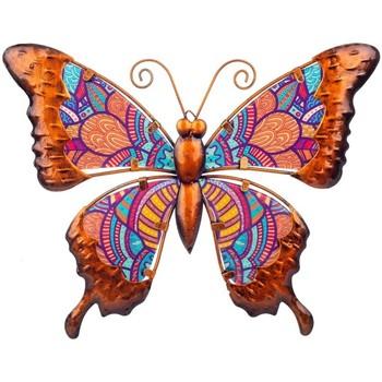 Σπίτι Αγαλματίδια και  Signes Grimalt Σχήμα Πεταλούδα Naranja