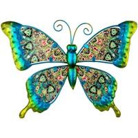 Σπίτι Αγαλματίδια και  Signes Grimalt Σχήμα Πεταλούδα Verde