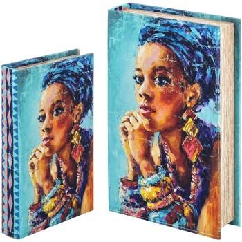 Σπίτι Κουτιά αποθήκευσης Signes Grimalt Κιβώτιο Βιβλίων Set 2 U Azul