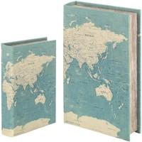 Σπίτι Κουτιά αποθήκευσης Signes Grimalt Κιβώτιο Βιβλίων Set 2 U Verde