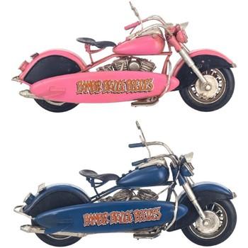 Σπίτι Αγαλματίδια και  Signes Grimalt Μοτοσικλέτα Set 2 U Multicolor