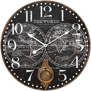 Σπίτι Ρολόγια τοίχου Signes Grimalt Ρολόι Τοίχου 58 Cm. Negro