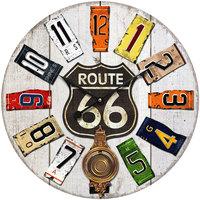 Σπίτι Ρολόγια τοίχου Signes Grimalt Ρολόι Τοίχου 58 Cm. Multicolor