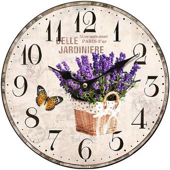 Σπίτι Ρολόγια τοίχου Signes Grimalt Ρολόι Τοίχου 34 Cm. Lila