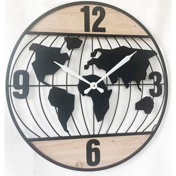 Σπίτι Ρολόγια τοίχου Signes Grimalt Ρολόι Τοίχου 60 Cm. Negro