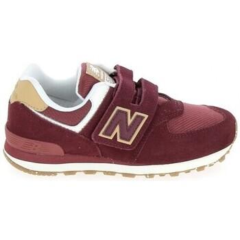 Παπούτσια Παιδί Χαμηλά Sneakers New Balance PV574 C Bordeaux Red