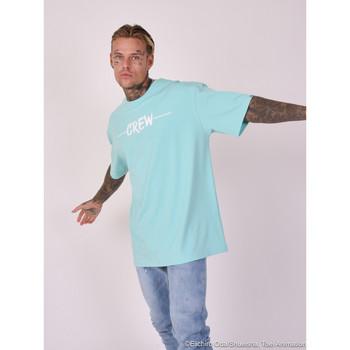 Υφασμάτινα Άνδρας T-shirts & Μπλούζες Project X Paris  Μπλέ