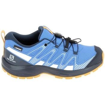 Παπούτσια για τρέξιμο Salomon Xa Pro V8 Jr CSWP Bleu [COMPOSITION_COMPLETE]