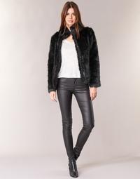 Υφασμάτινα Γυναίκα Skinny Τζιν  Vero Moda SEVEN Black