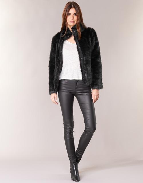 Υφασμάτινα Γυναίκα Παντελόνια Πεντάτσεπα Vero Moda SEVEN Black