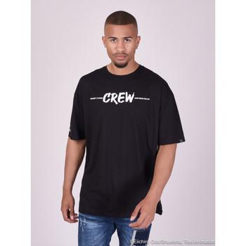 Υφασμάτινα Άνδρας T-shirts & Μπλούζες Project X Paris  Black