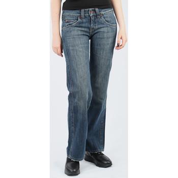 Υφασμάτινα Γυναίκα Παντελόνες / σαλβάρια Lee Avalon Loose Fit L344BH75 blue