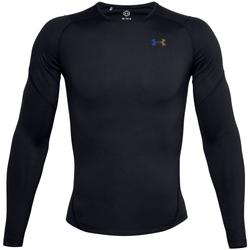 Υφασμάτινα Άνδρας Μπλουζάκια με μακριά μανίκια Under Armour Rush Heatgear 2.0 Compression Long Sleeve Noir