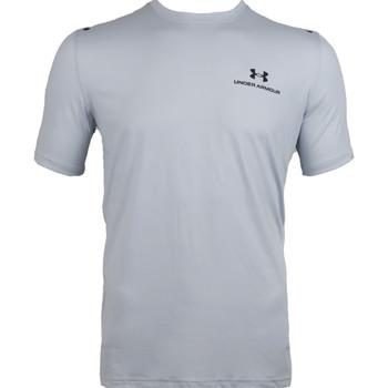 Υφασμάτινα Άνδρας T-shirt με κοντά μανίκια Under Armour Rush Energy Short Sleeve Grise