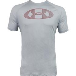Υφασμάτινα Άνδρας T-shirt με κοντά μανίκια Under Armour Tech 2.0 Lockertag Short Sleeve Grise