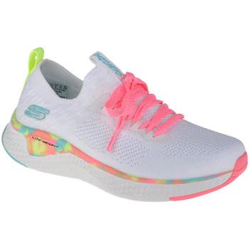 Παπούτσια Κορίτσι Χαμηλά Sneakers Skechers Solar Fuse Blanc