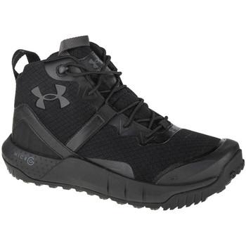 Παπούτσια Άνδρας Πεζοπορίας Under Armour Micro G Valsetz Mid Noir