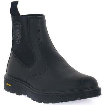 Παπούτσια Άνδρας Μπότες Blauer BLK GUANTANAMO 7 Nero