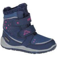 Παπούτσια Κορίτσι Μπότες Kappa Cui Tex K Bleu marine