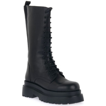 Παπούτσια Γυναίκα Μπότες για την πόλη Keys ANFIBIO BLK Nero