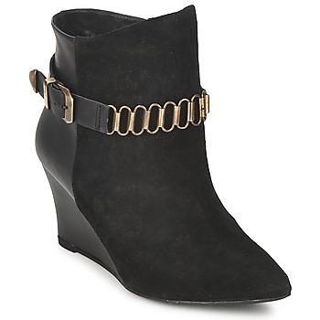 Παπούτσια Γυναίκα Μποτίνια Pastelle ALINE Black