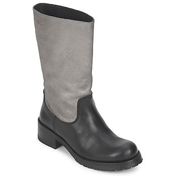 Παπούτσια Γυναίκα Μπότες για την πόλη Pastelle PETULA Ασημι-μαυρο