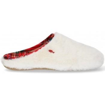 Παπούτσια Γυναίκα Παντόφλες Hot Potatoes ZAPATILLAS CASA MUJER  64289 Άσπρο
