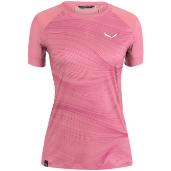T-shirt με κοντά μανίκια Salewa Koszulka Seceda Dry W 28070-6570 [COMPOSITION_COMPLETE]