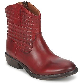 Παπούτσια Γυναίκα Μπότες Pastelle ELSA BORDEAUX