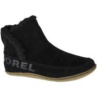 Παπούτσια Γυναίκα Snow boots Sorel Nakiska Bootie Noir