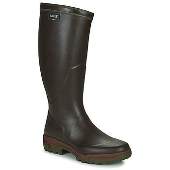 Παπούτσια Άνδρας Μπότες βροχής Aigle PARCOURS 2 Καφέ
