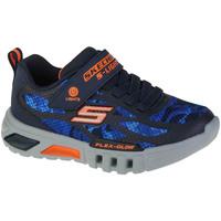 Παπούτσια Αγόρι Χαμηλά Sneakers Skechers Flex-Glow Rondler Bleu marine