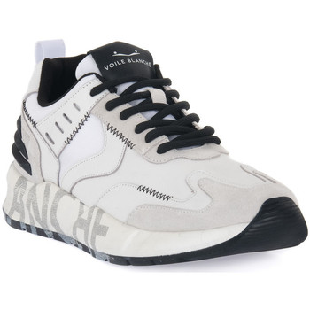 Παπούτσια Άνδρας Χαμηλά Sneakers Voile Blanche CLUB15 Bianco