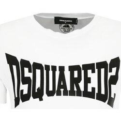 Υφασμάτινα Άνδρας T-shirt με κοντά μανίκια Dsquared S71GD0918 Άσπρο