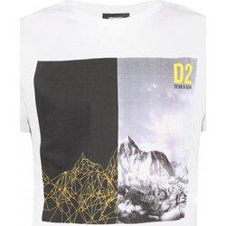 Υφασμάτινα Άνδρας T-shirt με κοντά μανίκια Dsquared S74GD0265 Άσπρο