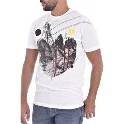 Υφασμάτινα Άνδρας T-shirt με κοντά μανίκια Dsquared S74GD0266 Άσπρο