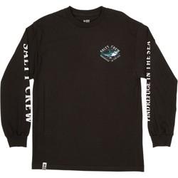 Υφασμάτινα Άνδρας Μπλουζάκια με μακριά μανίκια Salty Crew T-shirt à manches longues  Deadeye Standard noir