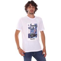 Υφασμάτινα Άνδρας T-shirt με κοντά μανίκια Refrigiwear RM0T24400JE9101 λευκό